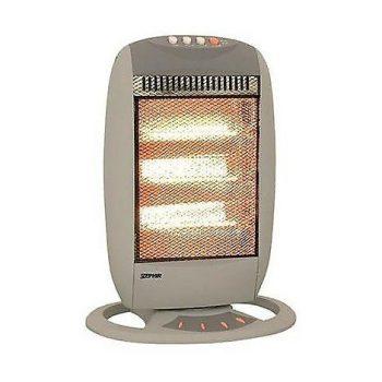 estufa con lámparas halógenas