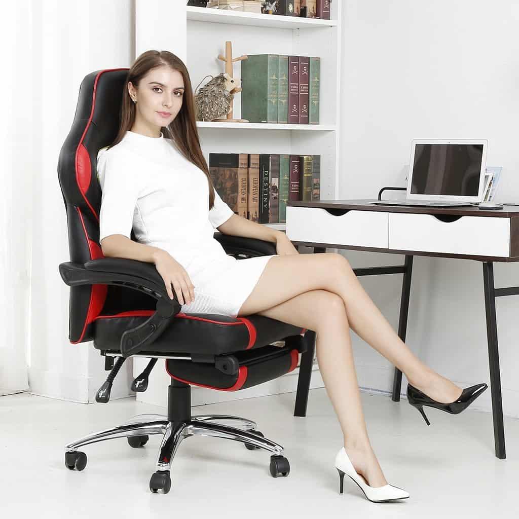 respaldo de silla ergonómica